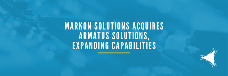 Markon Solutions Acquires Armatus Solutions, Expanding Capabilities