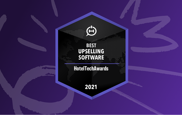 Oaky awarded Best Hotel Upselling Software by Hotel Tech Report