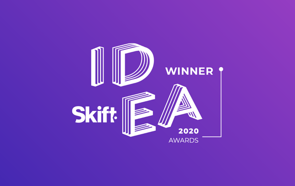 Oaky wins at Skift Idea Awards!