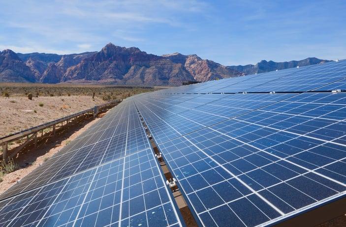 solar panels in mohave desert california