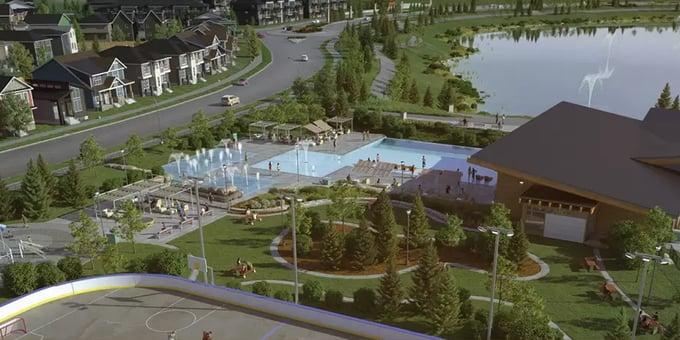Calgary Homeowner's Association - Rockland Park HOA Rendering