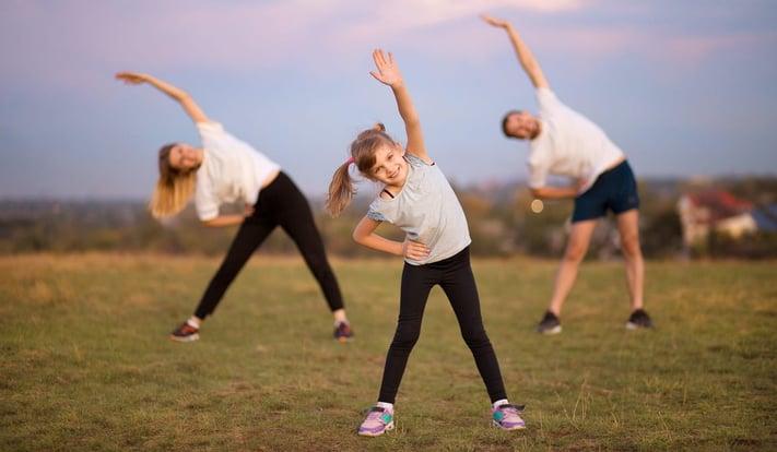Hábitos saludables para los niños y niñas y toda la familia