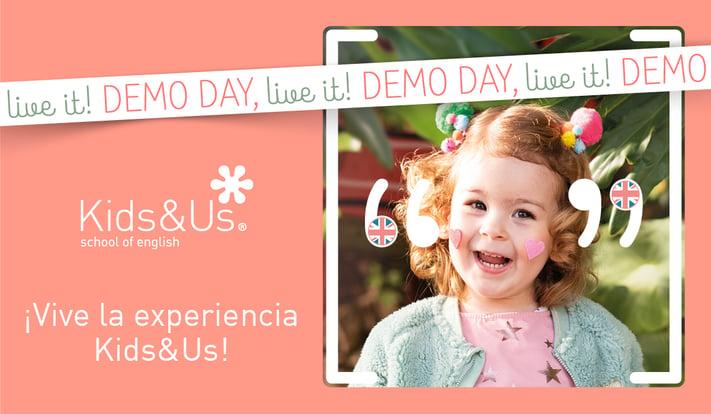 Demo Day: ven a descubrir Kids&Us en una jornada de puertas abiertas