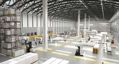 automatización industrial en el almacén