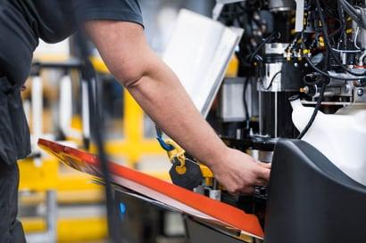 proceso de fabricación carretilla elevadora