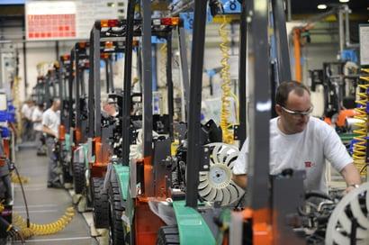 operario en la fábrica de Ancenis