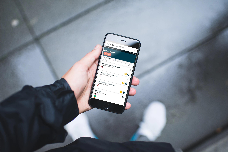 Stoffkartotek app