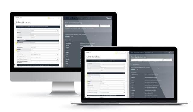 Lag, oversett, oppdater og distribuer sikkerhetsdatablader direkte til dine kunder med EcoOnline Publisher