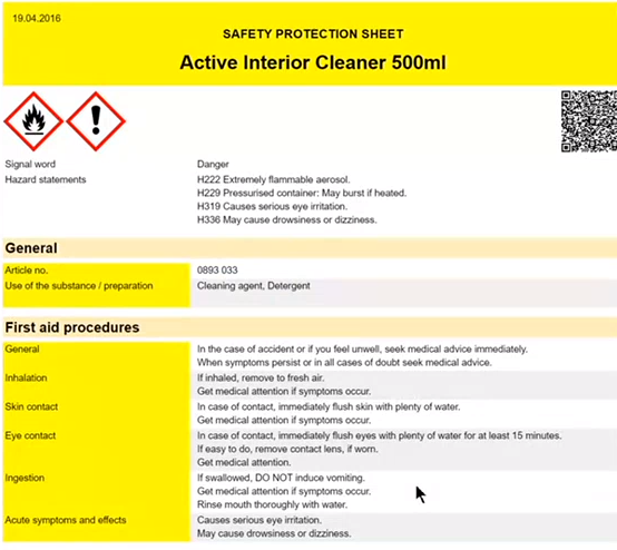 Safety Protection Sheets