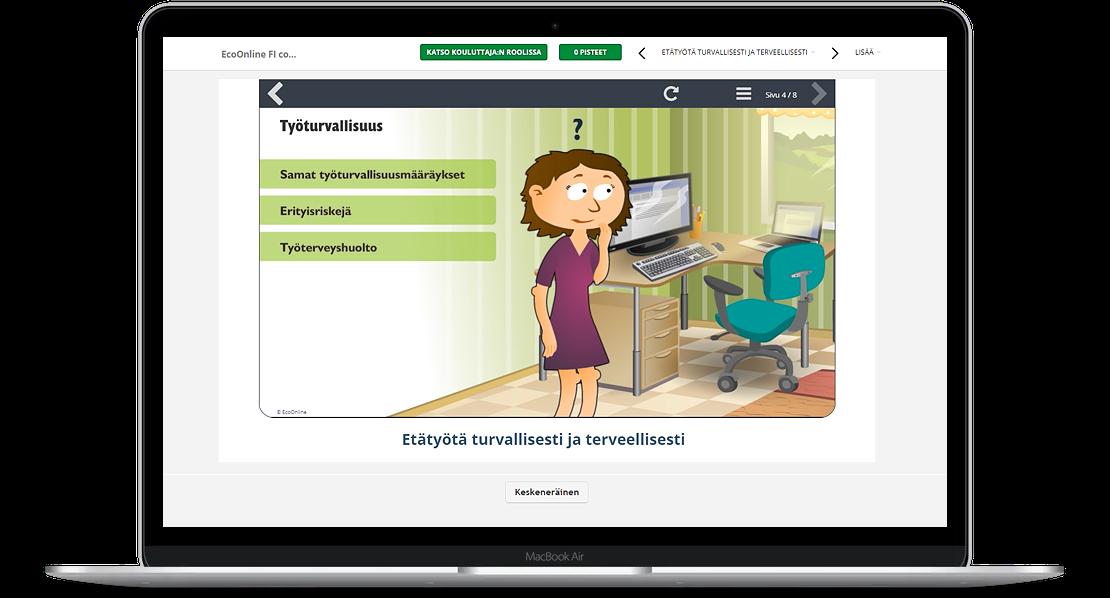 Työturvallisuuden e-oppimateriaalit