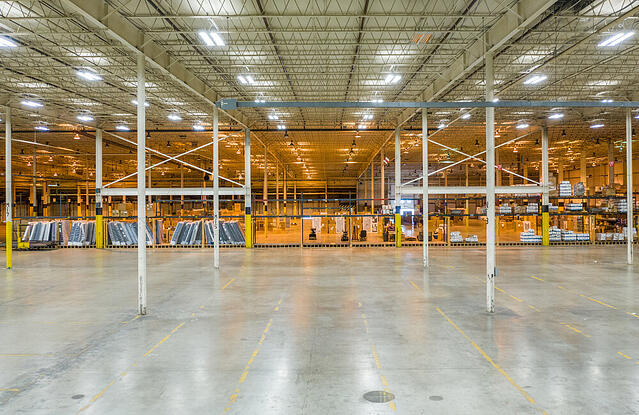 What is considered industrial property in the real estate market?