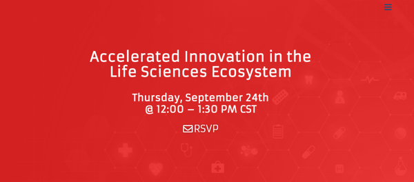 Accelerated Innovation in the Life Sciences Ecosystem