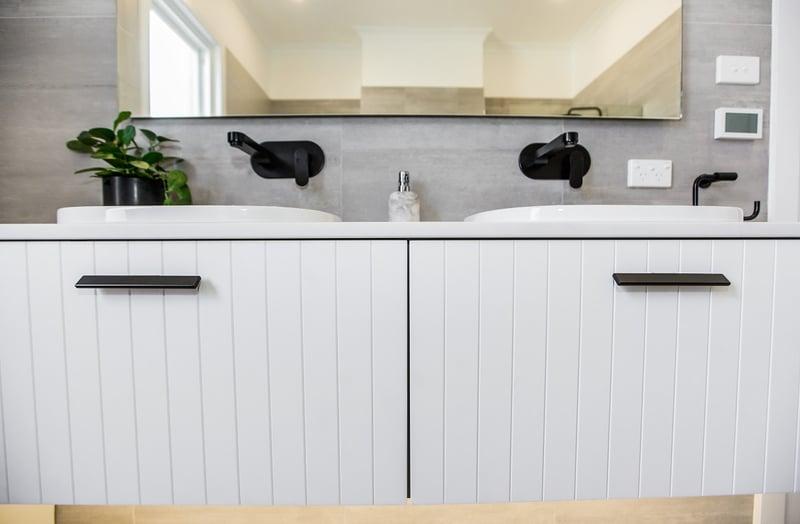 Matte Black Commercial Bathroom Fittings - Crystal Bathrooms