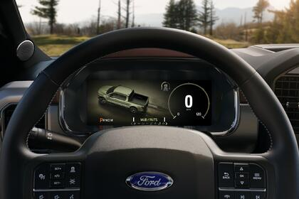 Kanzi in the new Ford F-150: driving a superior user experience