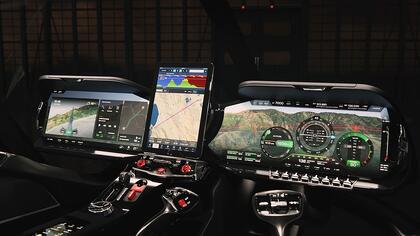 Modernizing aircraft cockpits with automotive UI design knowhow