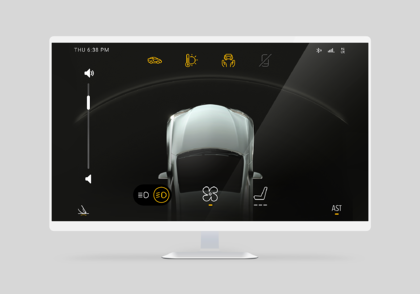 Immersion enables automotive user interface designers to work with haptic APIs in Kanzi UI software