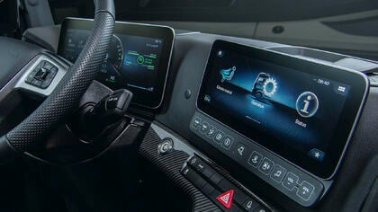 Rightware's Kanzi powers interactive Multimedia Cockpit in award-winning Mercedes-Benz Actros flagship truck