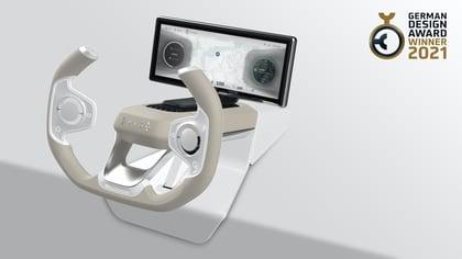The Origo Steering Wheel wins German Design Award 2021 for outstanding design quality