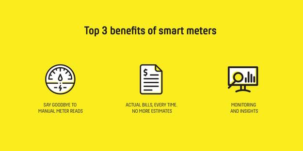 Top 3 benefits of smart meters