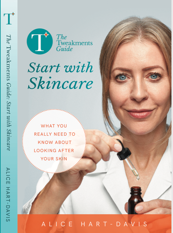 Image of the cover of Start With Skincare, the new book by writer Alice Hart-Davis