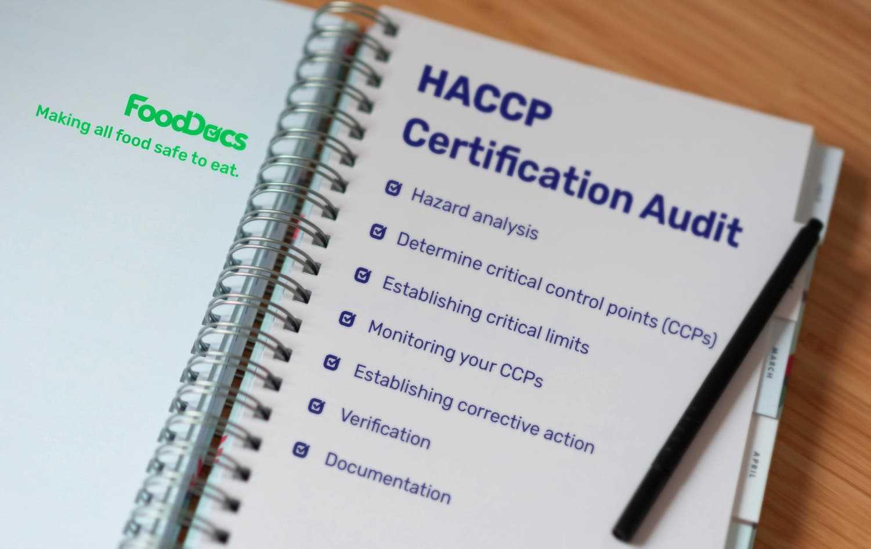 haccp certification audit