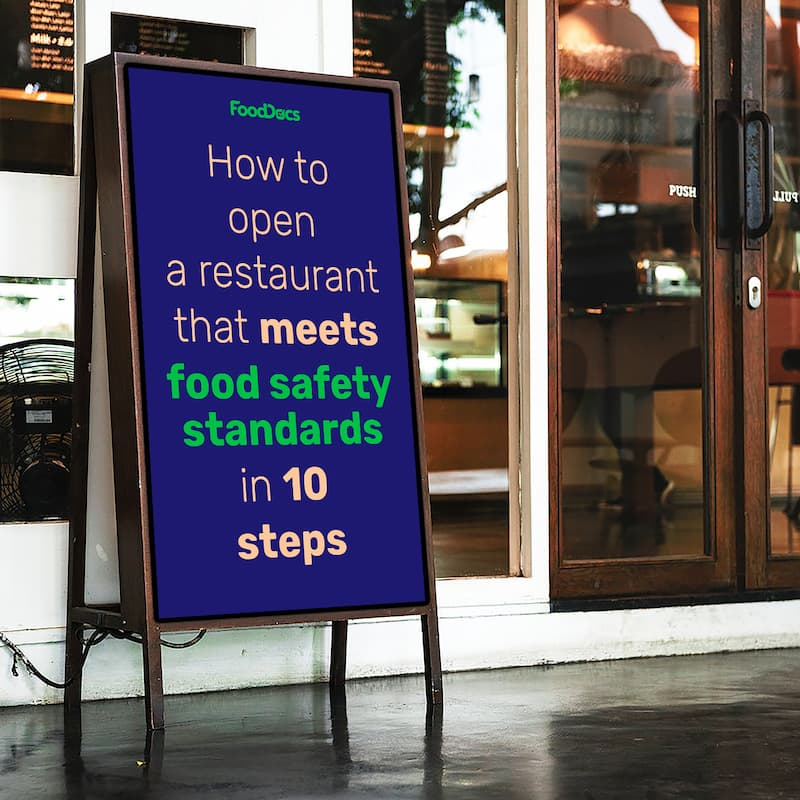 opening a restaurant that meets food safety standards
