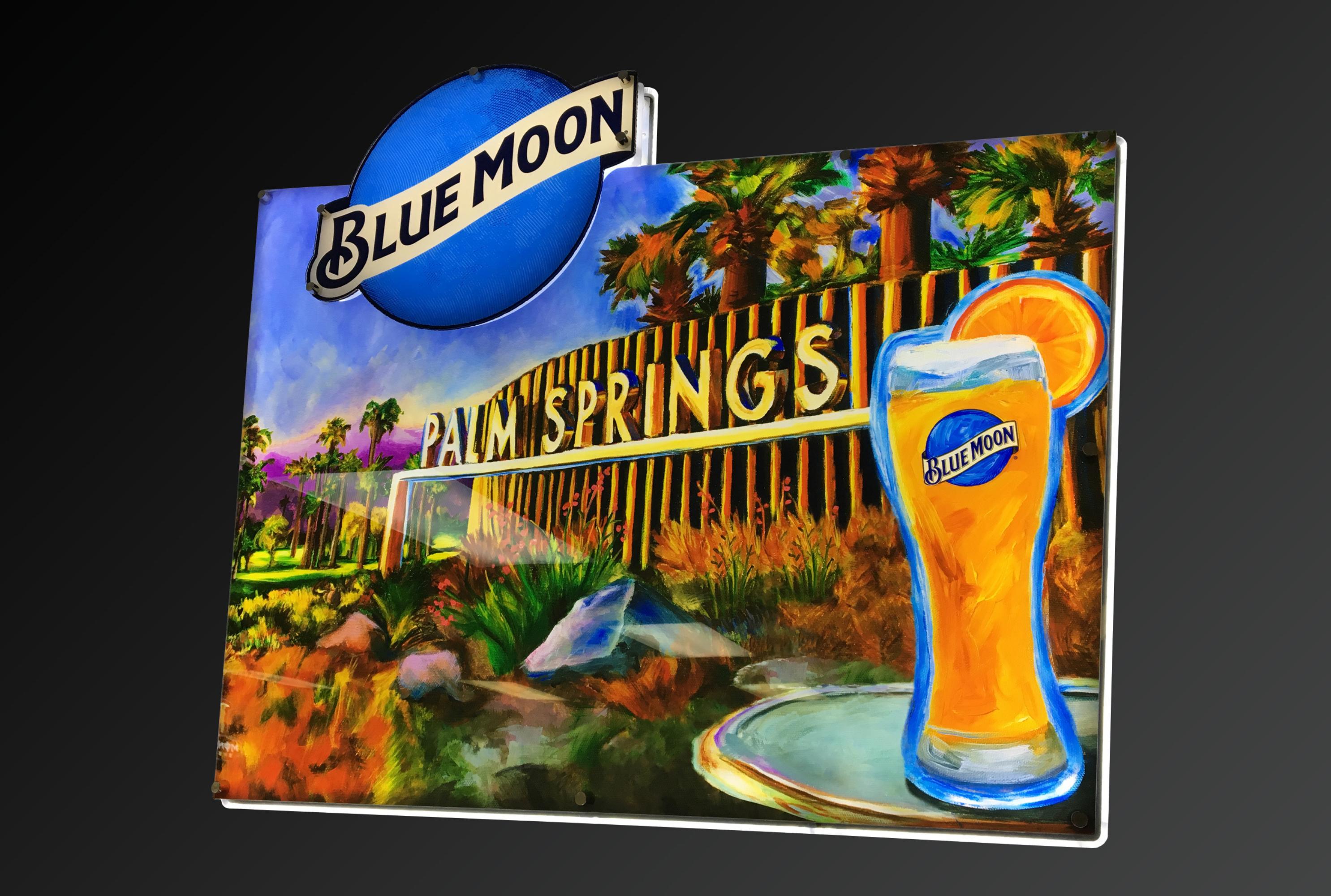 Blue Moon Sign