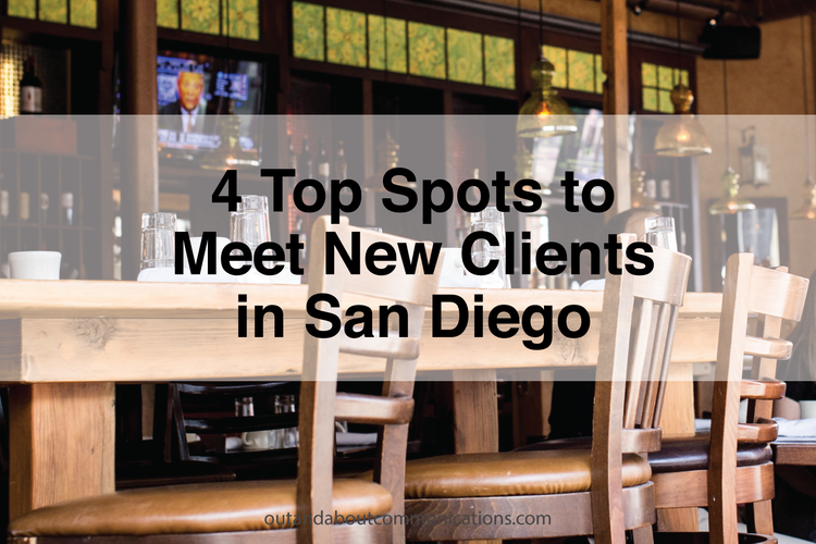 4 Top Spots to Meet New Clients in San Diego
