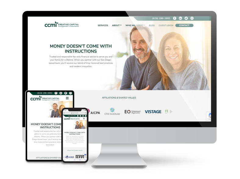 How Our CCMI Website Redesign Encourages User Engagement