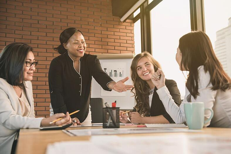 Let's Hear It for the Women in Financial Services
