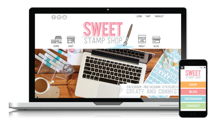 New Site Launch: Sweet Stamp Shop