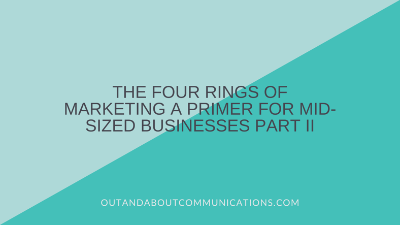 The Four Rings of Marketing A Primer for Mid-Sized Businesses Part II