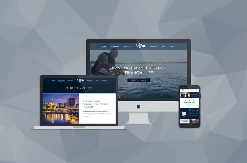 The Big Reveal: MJP Wealth Advisors' New Site