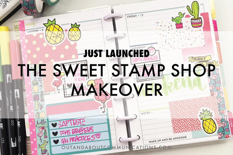 The Sweet Stamp Shop Makeover