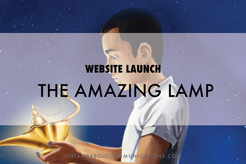 Website Launch: The Amazing Lamp