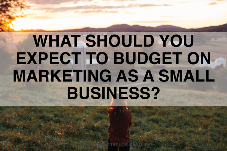 What Should You Expect to Budget on Marketing as a Small Business?