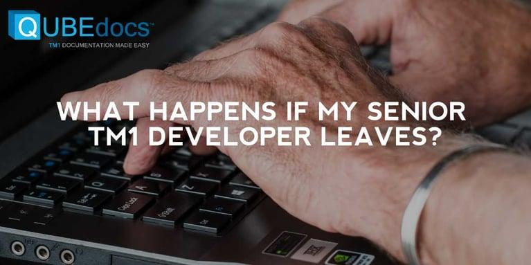 What Happens If My Senior TM1 Developer Leaves