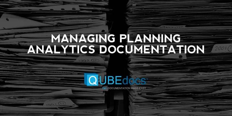 Managing Planning Analytics Documentation