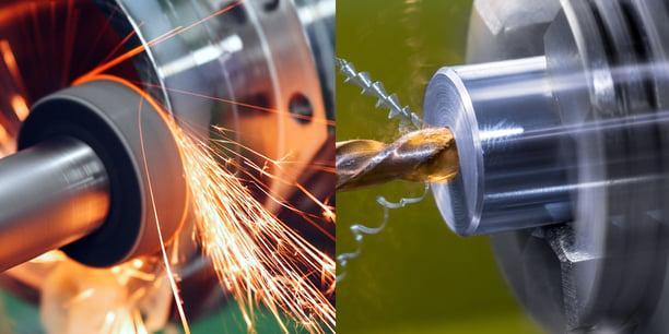 Grinding vs Machining