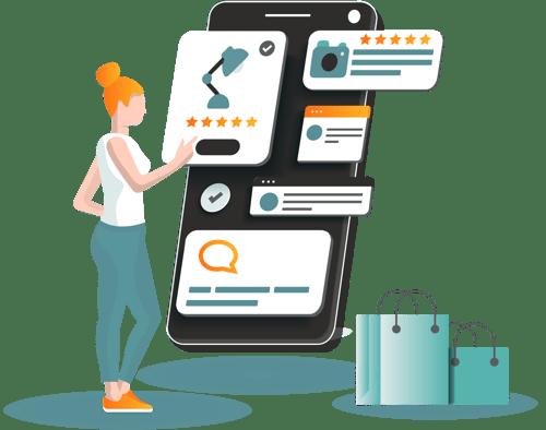 Monitor customer reviews