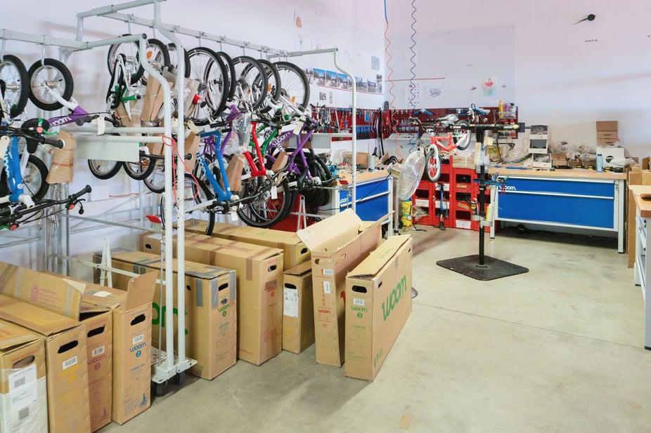 woom upcycling Fahrräder