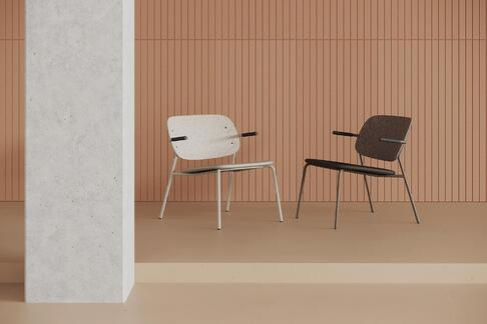 Introducing Hale PET Felt Lounge Chair