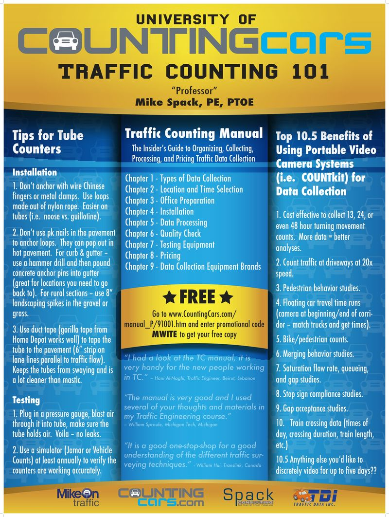 Traffic Counting 101 – Spack's Midwestern ITE Poster