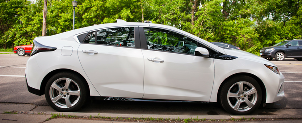 Why Our New Traffic Counting Van is a Chevy Volt Sedan
