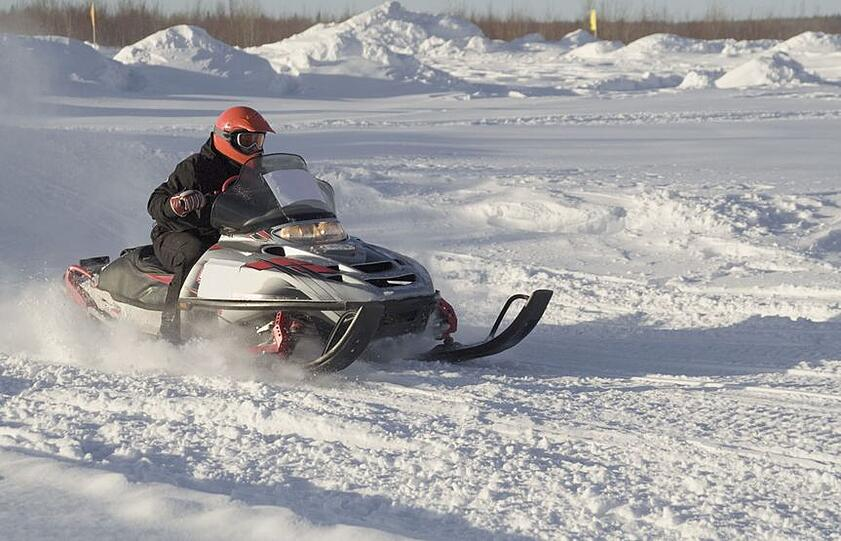 Counting Snowmobile Trail Crossings