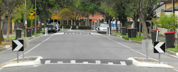 Case Study: Data Centered Traffic Calming Experiment in a Neighborhood