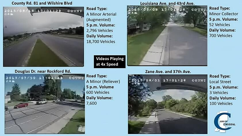 City Uses Video to Show ADT Levels