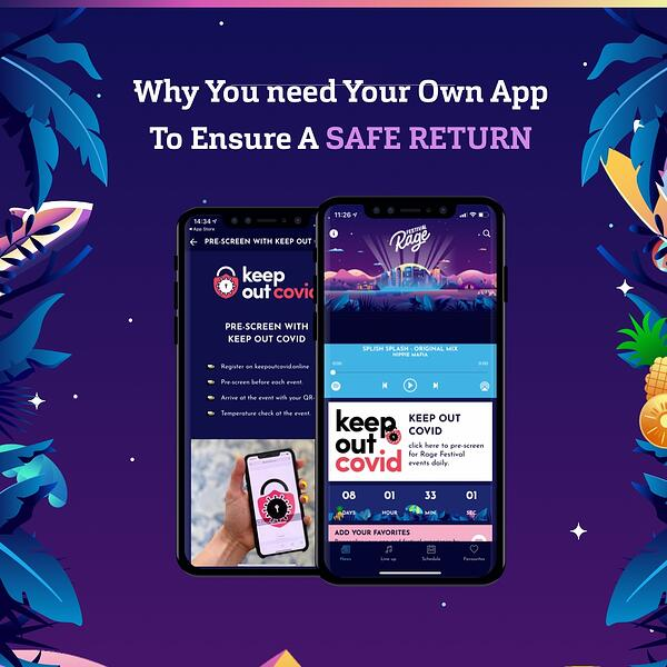 6 Important Reasons How Festival Apps Will Contribute To A Safe Return
