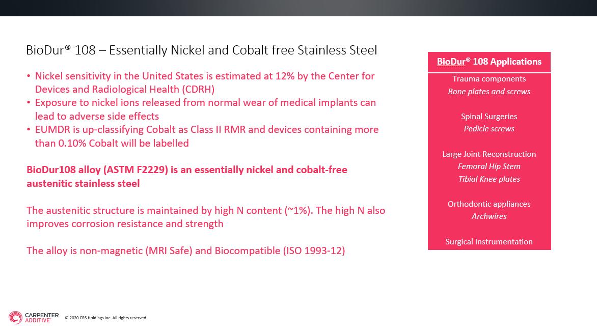 BioDur108 webinar
