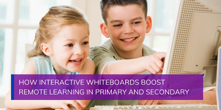 How Interactive Whiteboards Boost Remote Learning in Primary and Secondary Schools